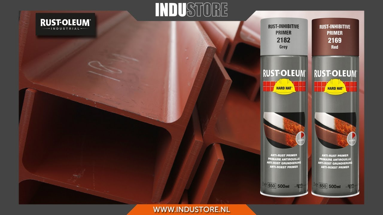 Rust Oleum Hard Hat Primer.Industore Rust Oleum Primer Spray Sneldrogende Roestwerende