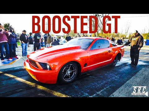 STREET OUTLAWS Boosted GT First No Prep Race in NEW CAR!