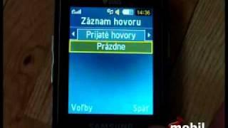 Samsung C5212 Duos menu