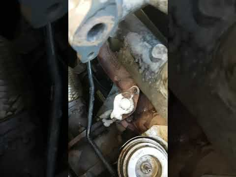 Clean turbo with oven cleaner in Audi a4 b5 1.9 tdi