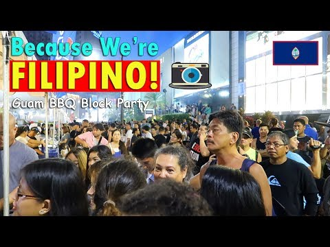 BECAUSE WE'RE FILIPINO! (Guam BBQ Block Party) | July 3rd, 2017 | Vlog #158