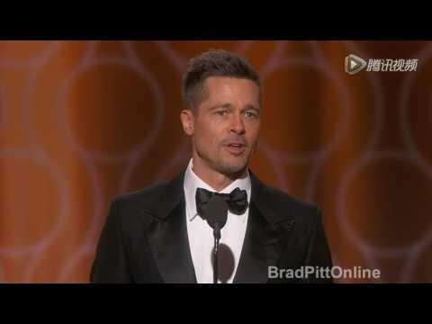 Brad Pitt at 2017GGA |full cut