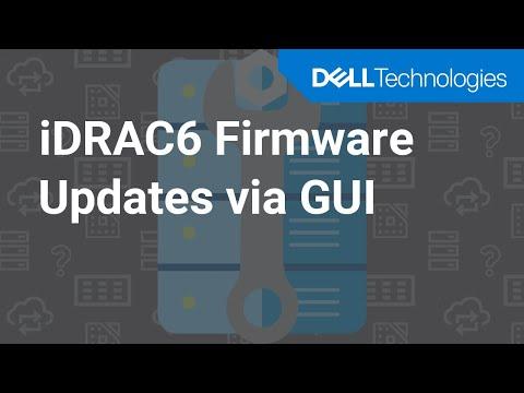 Dell iDRAC 6 Firmware Updates via GUI Interface - YouTube