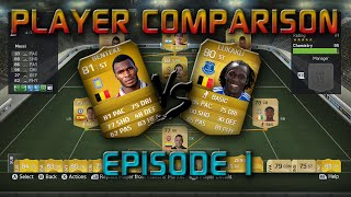 Fifa 15 - Player Comparison - Benteke vs Lukaku: The Better Belgian BPL Striker Thumbnail
