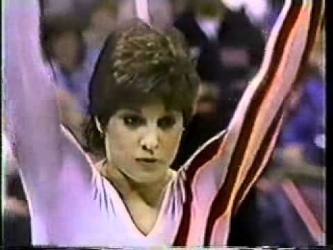 mary lou retton 1985 american cup vault 2