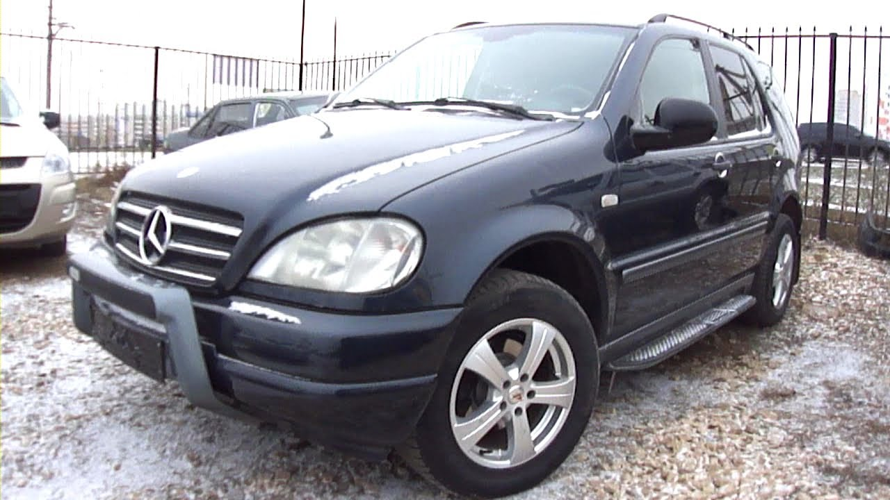 1999 mercedes benz ml320 start up engine and in depth. Black Bedroom Furniture Sets. Home Design Ideas