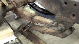 Build Your Willys: Front Axle Removal