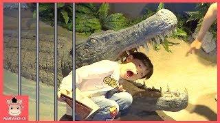 동물원 친구들 함께 방탈출 하기! 주렁주렁 동물 놀이터 놀이 ♡ 놀이공원 테마파크 키즈카페 indoor playground for kids | 말이야와아이들 MariAndKids