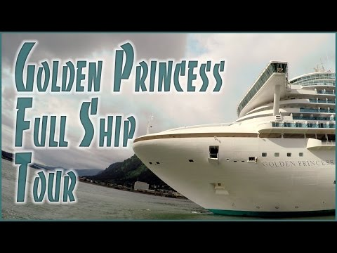 Golden Princess Cruise Ship Tour