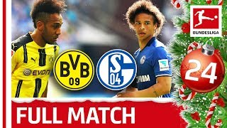 Dortmund vs. Schalke - Full Bundesliga Match 2015/16 - Bundesliga 2018 Advent Calendar 24