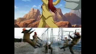 Приколы Fairy Tail для поднятия настроения #3