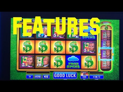 MONEY RAIN Live Play Max Bet $3.00 With FEATURES IT Slot Machine