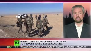 'It's all about influence and domination in Syria' - Political analyst on US troops deployment