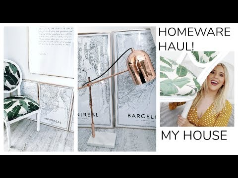 HOMEWARE HAUL, HOW TO MAKE YOUR HOUSE LOOK EXPENSIVE, HomeSense Haul! New Home Update! ad