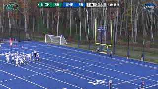 Gambar cover Nichols College Football @ UNE 10-26-19
