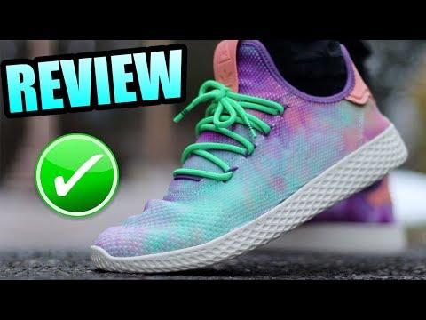 Adidas TENNIS HU HOLI TIE DYE Review ! | Holi Tennis HU On Foot !