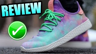 Adidas TENNIS HU HOLI TIE DYE Review ! | Holi Tennis HU On Foot !