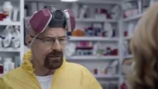 Уолтер Уайт в рекламном ролике Super Bowl на русском