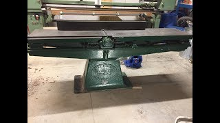 "90-Year-Old 12"" Jointer with Babbit Bearings"