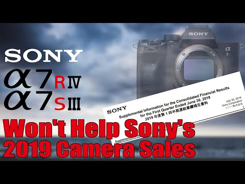Financials Show Sony's A7RIV A7SIII Won't Help Camera Sales - YouTube