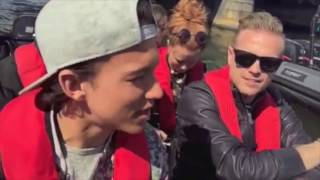 Nicky Byrne's Boat Trip in Sweden (10.05.16)