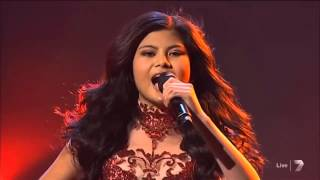 "Marlisa Punzalan - ""Girl On Fire"" Live Semi Finals - The X Factor Australia 2014"