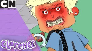 Clarence | Evil Officer | Cartoon Network UK