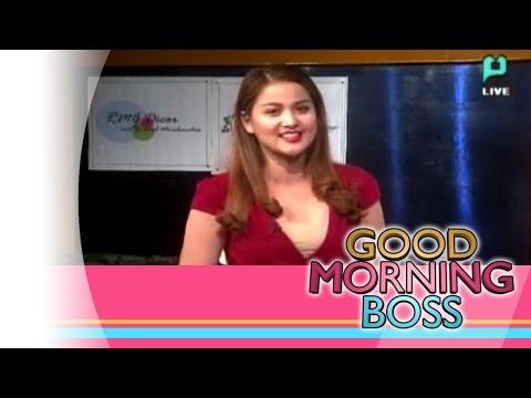 [Good Morning Boss] Birthday girl Dianne Medina, thanked her Sponsors [11|05|15]