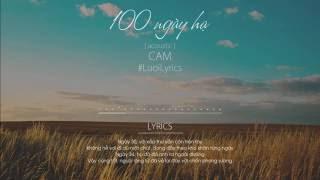 100 Ngày Hạ ( Acoustic )   CAM
