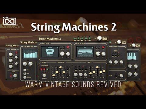 UVI String Machines 2   Trailer