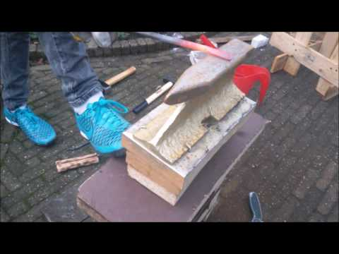 Simple Beginner Projects: Forging a Coal shovel