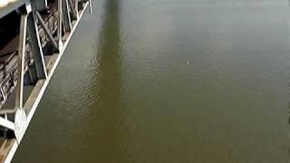 Jetfire Glider's One Way Flight Off A Very Tall Bridge