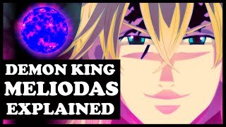how strong is demon king meliodas seven deadly sins nanatsu no taizai