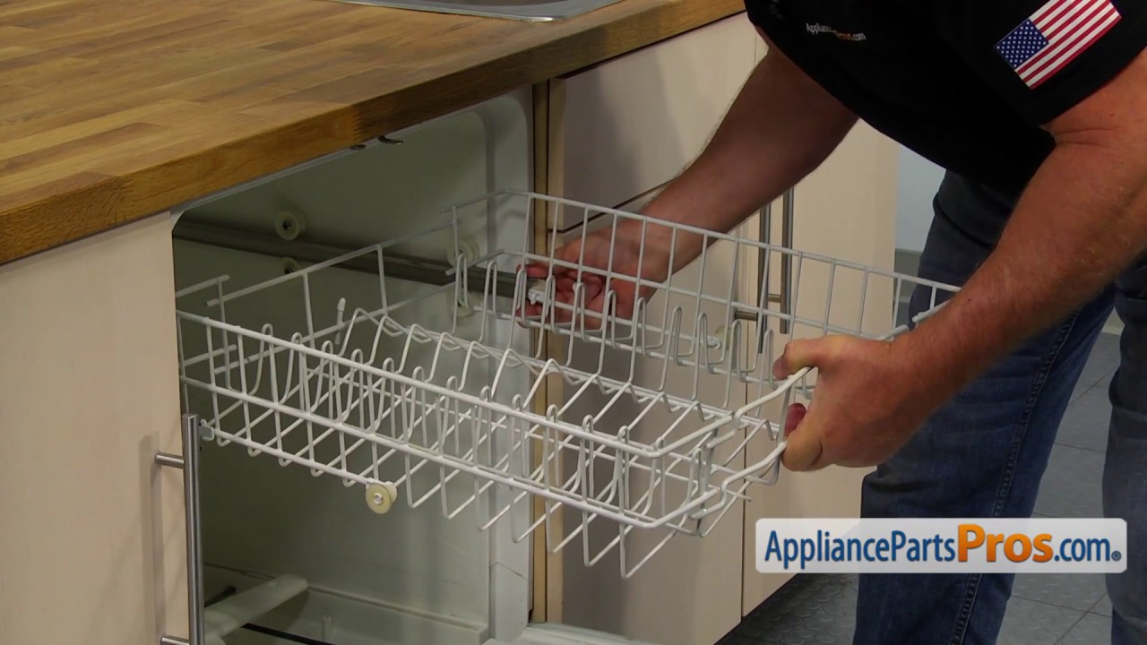 Dishwasher Coupler (Part #WD01X10342) - How To Replace - YouTube