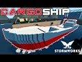 Under Bridge Room  -  Cargo Vessel  -  Stormworks: Build and Rescue  - Part 3