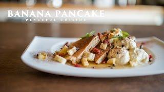 Banana Pancake (vegan) ☆ バナナパンケーキの作り方