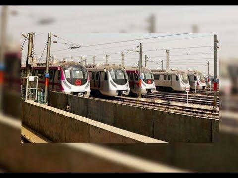 15 METERS ABOVE PARKING FOR DELHI METRO TRAINS l VOP