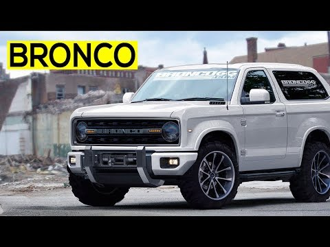 Ford Bronco 2018 With Low Cost, Good Looking Interior With Various Color