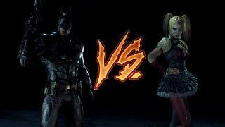 Batman VS Harley Quinn (The quickest fight ever)
