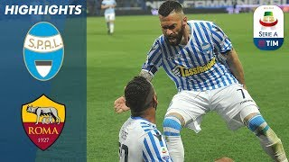 SPAL 2-1 Roma | Petagna Scores the Winner to Sink Roma! | Serie A