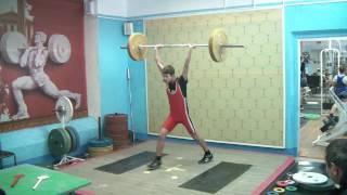Новосёлов Дима, 15 лет, вк 50 Толчок 50 кг