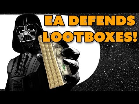 EA DEFENDS Battlefront II Loot Boxes! - The Know Game News