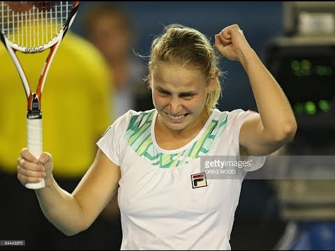Jelena Dokic VS Alisa Kleybanova Highlight 2009 AO R4