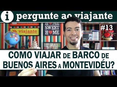 Como viajar de Buenos Aires a Montevideo de barco?