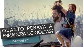 1 Samuel 17:5 - A armadura de Golias - Pr. Everton Almeida