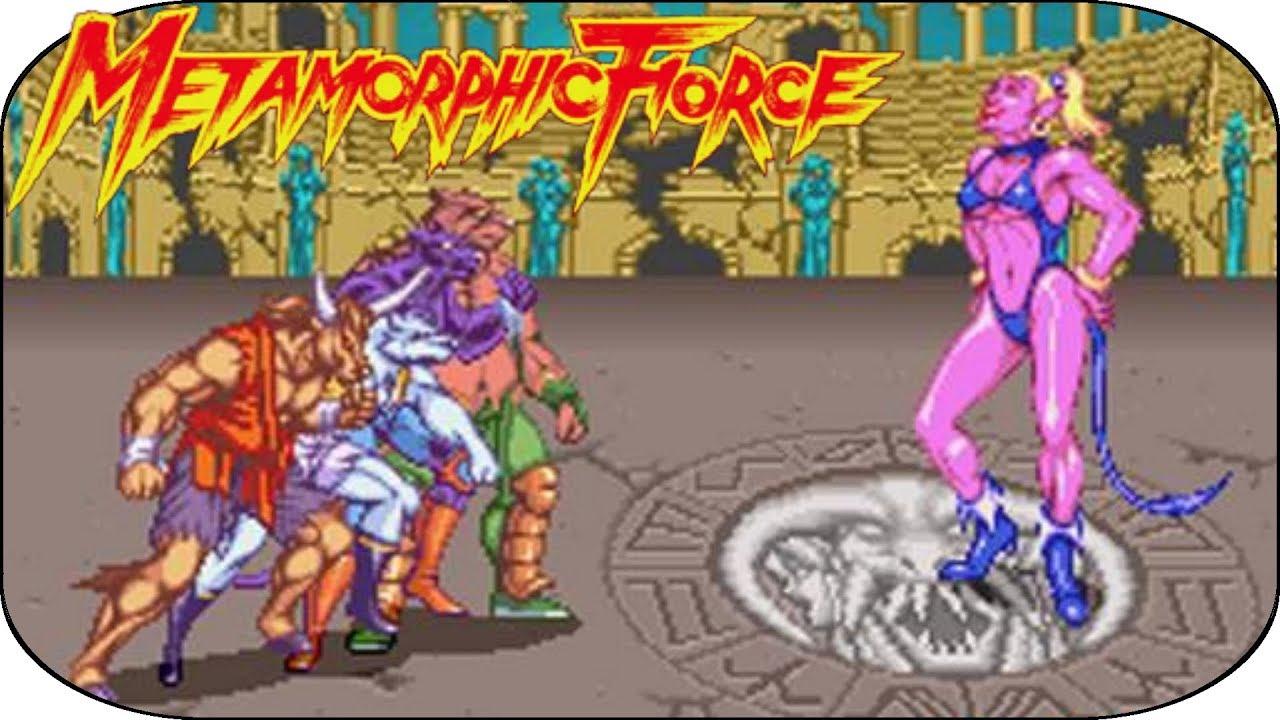 Metamorphic Force Arcade Altered Beast Du Zodiaque Youtube