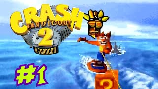 Crash Bandicoot 2: N-Tranced Walkthrough ITA Parte 1