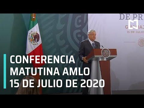 Conferencia matutina AMLO / 15 de julio de 2020
