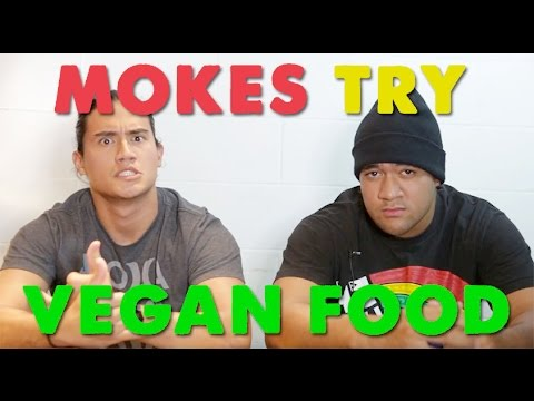 Hawaii MOKES Try Vegan Food