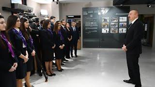 İlham Əliyevin 2 saylı DOST mərkəzinin açılışında nitqi